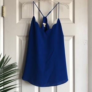 Blue camisole, j crew, brand new, size 12.